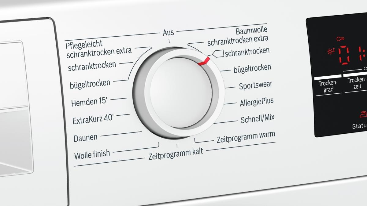Küchenbauer gmbh bosch wtg luftkondensations wäschetrockner