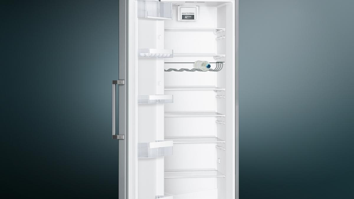 Siemens Kühlschrank Rollen : Küchenbauer gmbh siemens ks36vvl4p kühlschrank türen edelstahl look