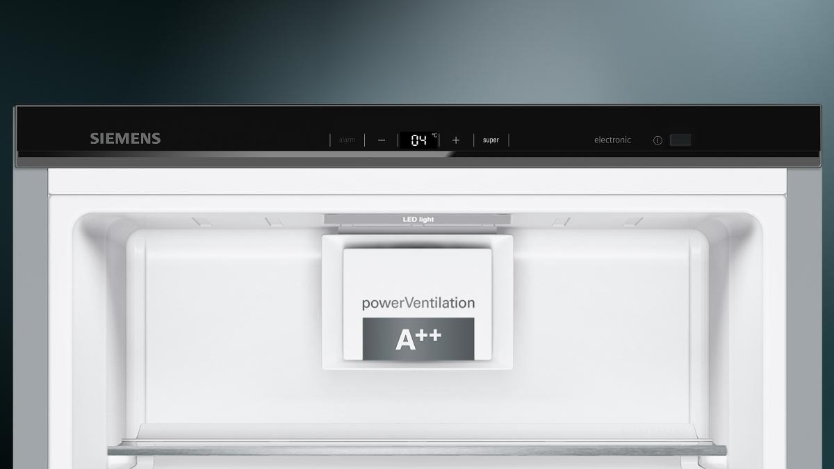 Kühlschrank Tür Alarm : Küchenbauer gmbh siemens ks vax p kühlschrank türen black inox