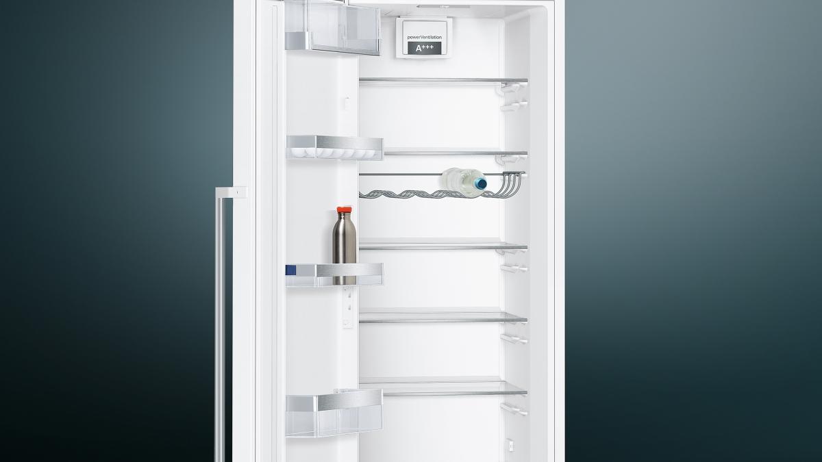 Siemens Kühlschrank Glasplatte : Küchenbauer gmbh siemens ks36vaw4p kühlschrank eek: a weiß