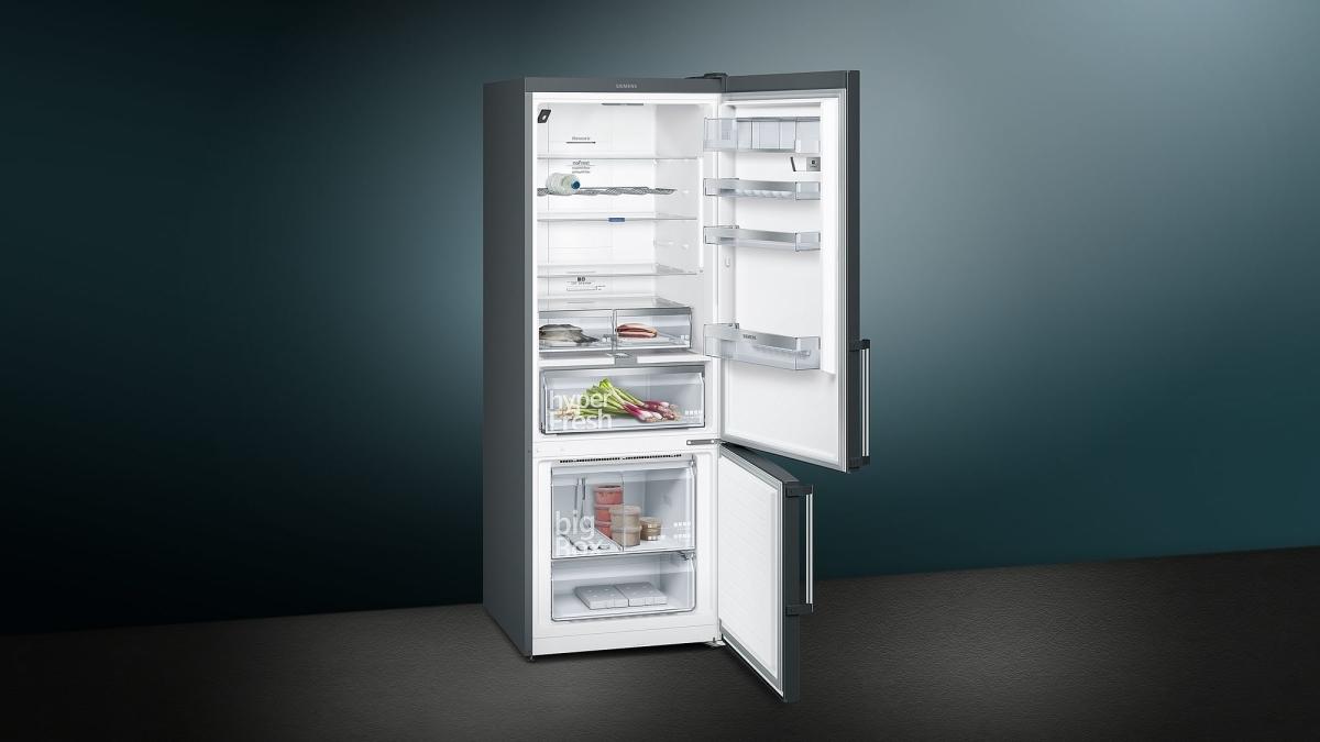 Siemens Kühlschrank Unterdruck : Küchenbauer gmbh siemens kg56nhx3p kühl gefrier kombi türen black